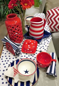 However you celebrate, do it with that great American style and gusto. Entertaining should be casual, fun and of course shared with others.