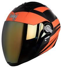 Some riders love to wear #noveltyhelmetsmotorcycle. Such type of helmets maintains a lower profile and they look cool at all the time. So in this way, someone can easily find safety and a satisfactory safety option from these helmets. Orange Motorcycle Helmet, Full Face Motorcycle Helmets, Full Face Helmets, Motorcycle Outfit, Bicycle Helmet, Indian Scout Bike, Novelty Helmets, Vintage Helmet, Lady Biker