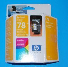 HP78 Tri-Color HP Inkjet Large Print Cartridge Unused #HP