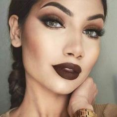 maquillaje labios mate