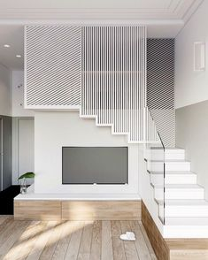 How to choose and buy a new and modern staircase – Modern Home Interior Stairs, Home Interior Design, Interior Architecture, Stair Railing Design, Staircase Railings, Modern Stairs, House Stairs, Modern House Design, Design Case