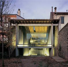 RCR Arquitects' row house renovation in Olot. Catalonia