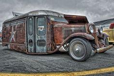 mofo sick, rat rod bus