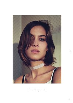 Twin Magazine Spring Summer 2016 Alexa Chung by Mark Kean-9