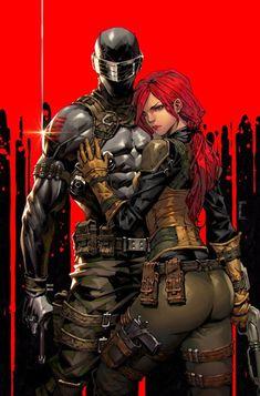 Gi Joe Characters, Comic Book Characters, Comic Character, Comic Books Art, Comic Art, Character Design, Comic Villains, Snake Eyes Gi Joe, Storm Shadow