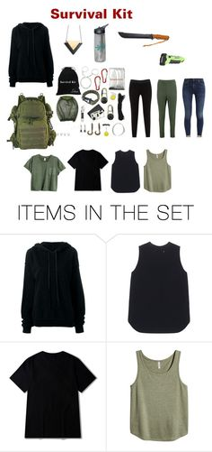 """Survival Kit"" by cnquint on Polyvore featuring art"