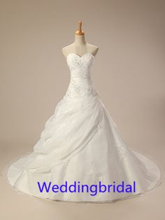 custom made white wedding dress lace wedding dress beautiful luxury wedding gown custom any color and size