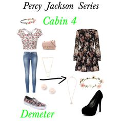 Percy Jackson Series: Cabin 4 Demeter by smcreddog on Polyvore featuring polyvore, fashion, style, Mela Loves London, Vans, Qupid, Chanel, Ippolita, Gorjana, Accessorize and Capelli New York