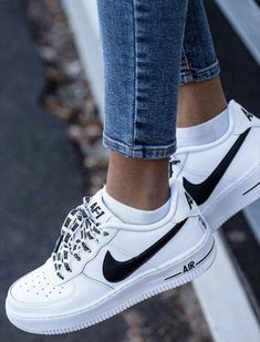 I will be the first to admit that I am serious sneaker addict. This month's purchase are these Nike Airforce 1 sneakers. When I am looking for new sneakers (or if I stumble across them through no… Shoe Boots, Shoes Heels, Pumps, High Heels, Converse Shoes, Vans Tennis Shoes, Dsw Shoes, Sexy Heels, Sports Shoes