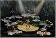 The Lark - Set Design by Richard Finkelstein, Stage Designer