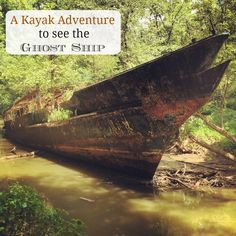 A Kayak Adventure to See the Ghost Ship