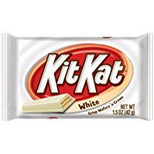 HERSHEY White Chocolate KIT KAT Bars 1.5 Oz 4 Finger Size! CASE OF 24 - $19.99 - FREE SHIPPING