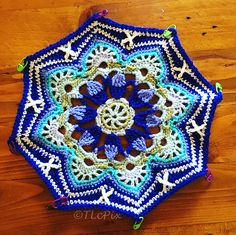 Ravelry: ThereseLc's Persian Tiles Blanket by Janie Crow