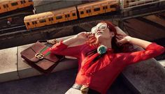 360-Degree E-Commerce Shops - The New Gucci E-Commerce Site Features an Editorial Section