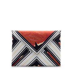 Image 1 of STAR PRINT CLUTCH BAG from Zara