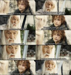 Words cannot express how much I love this scene... The Lord of the Rings: The Return of the King