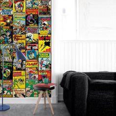 Papel de Parede DC Covers