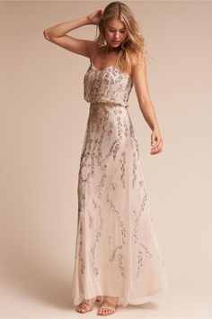 chic and romantic   Tribute Dress from BHLDN