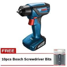 Bosch GSR 1000 Professional Cordless Drill with FREE Screwdriver Bits (Coral)
