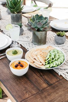 Host a Summer Soiree with Zoës Kitchen! See more on The TomKat Studio