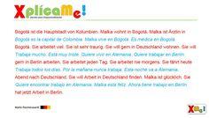 """Lección #67 """"El primer texto""""...Cursos, material de estudio haz clic: www.alemanparahispanohablantes.com"""