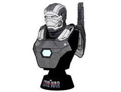 Iron Man Mark III War Machine Armor Bust Free Papercraft Download - http://www.papercraftsquare.com/iron-man-mark-iii-war-machine-armor-bust-free-papercraft-download.html#Avengers, #Bust, #IronMan, #IronManMarkIII, #MarkIII, #MarkIIIWarMachineArmor, #MarvelComics, #WarMachineArmor