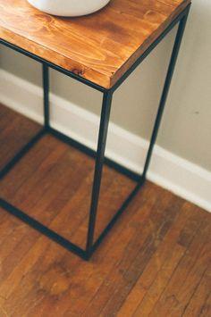 Ikea Hack Side Table