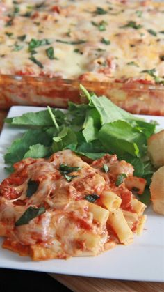 Mom's Easy Baked Ziti Recipe. Sometimes you can't beat a classic!