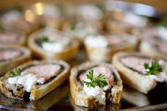 Mini Beef Wellington by D'Amico Catering