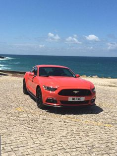 2015 Red Ford Mustang