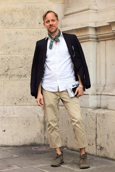 Desert boots // street fashion, men's style by Bruce Pask