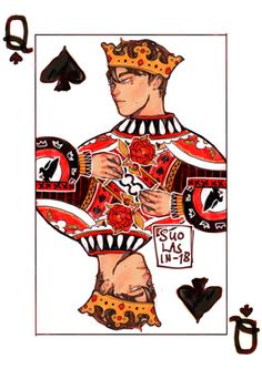 neil josten canonically wears jorts — suolasin: ♠️ Queen of Spades ♠️ aaaand its. O Daddy, Neil Josten, Tumblr Gay, T Games, Queen Of Spades, Six Of Crows, Film Serie, Book Fandoms, Book Characters