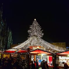 The Christmas Tree! #XmasMarket #CologneCathedral #Cologne...
