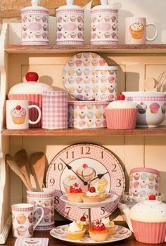 Cupcake Kitchen Goos Decor Themes New Cute
