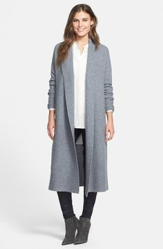 long cashmere cardigan - from @nordstrom #nordstrom