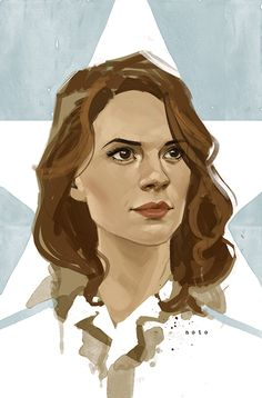 Hayley Atwell as Agent Peggy Carter by Phil Noto