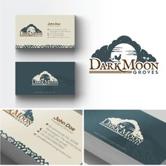Create a timeless logo and branding resources for Dark Moon Groves, a permaculture designed farm. by artheart