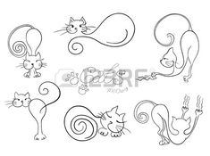 cat tattoo idea                                                                                                                                                                                 Más