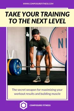 You just had a weightlifting workout, feel your muscles sore