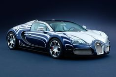 After Bugatti workers tighten the Veyron's last titanium bolt in eastern France, the company ships the car to Germany for painting. The 52 factory colors available in metallic and matte finishes won't cost Bugatti buyers anything extra above the $2 million they're already coughing up, but a custom job now runs $11,574 and custom interior colors cost $39,912. Bugatti's basic painting process takes a month. The L'Or Blanc, a swirl of hand-painted blue dripped on white, takes about three…
