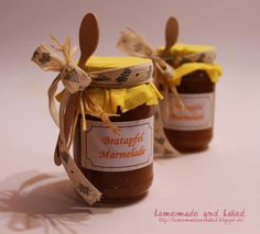 homemade and baked: Bratapfel Marmelade