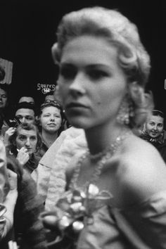 Robert Frank (U.S.A., b. Switzerland 1924) 'Movie premiere, Hollywood' 1955