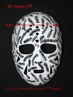 Face Masks 79762: Custom Vintage Fiberglass Nhl Helmet Ice Hockey Goalie Mask Gerry Cheevers Ho14 BUY IT NOW ONLY: $139.0