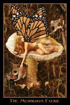 Sensual erotic fairy art