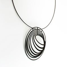 Concentric Pendant by Melissa Borrell