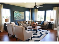 PERFECT!  Love the colors, clean lines and love the sectional!