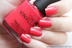 CND Vinylux - Lobster Roll - new favorite color for summer