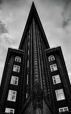 Schönes Bauwerk in Hamburg
