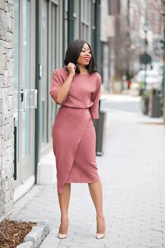 37 Non-Boring Casual Work Outfits for Black Women - Work Outfits Women Classy Work Outfits, Office Outfits Women, Summer Work Outfits, Classy Dress, Chic Outfits, Dress Outfits, Fashion Outfits, Dress Pants, Summer Fashions