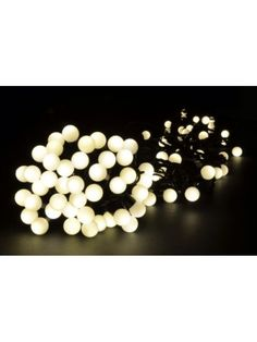Mini Bauble LED Festoon style Lights in Warm White. Perfect to add some atmosphere to your wedding venue.